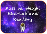 Mass vs. Weight Mini-Lab and Reading