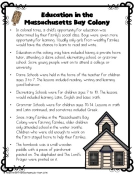 Massachusetts Bay: A Colony Founded by the Puritans