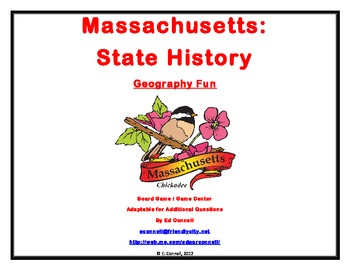 Massachusetts Board Game