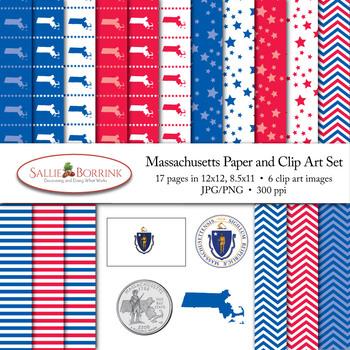 Massachusetts Clip Art