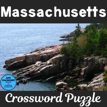 Massachusetts Crossword Puzzle