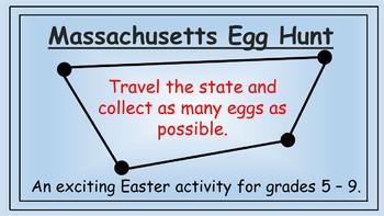 Massachusetts Easter Math Activity