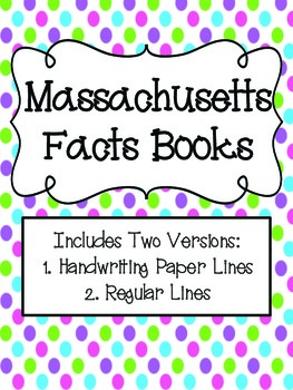 Massachusetts Facts Book