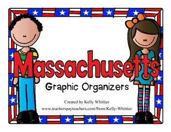 Massachusetts Graphic Organizers (Perfect for KWL charts a