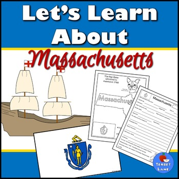 Massachusetts History and Symbols Unit Study
