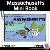 Massachusetts Mini Book for Early Readers - A State Study