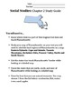 Massachusetts, Our Home- Chapter 2 Study Guide, Grade 3