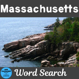 Massachusetts Word Search