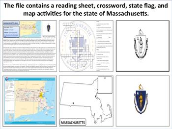 Massachusetts - State Activity Set
