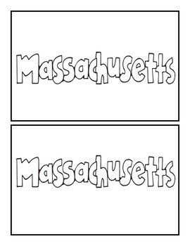 Massachusetts State Book