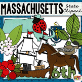 Massachusetts State Clip Art