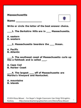 Massachusetts Welcome to the USA