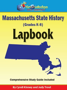 Massachusetts State History Lapbook