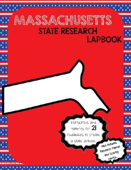 Massachusetts State Research Lapbook Interactive Project