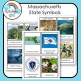 Massachusetts State Symbols Cards