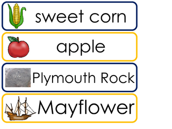 Massachusetts State Word Wall Bulletin Board Set. Geography Curriculum.