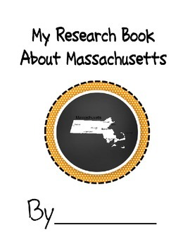 Massachusetts Student Research Book