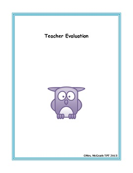 Massachusetts Teacher Evaulation Binder Dividers by Standard