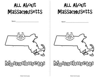 Massachusetts Webquest Common Core Research Mini Book