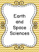 Massachusetts Grade 5 Science Standards in I Can Statement Poster Format