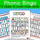 Massive Alphabet Phonic Bingo Set with 72 cards | LEEP Reading