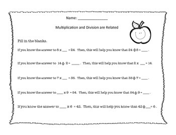 Massive Amounts of Multiplication and Division