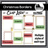 Massive Christmas Border Collection - 93 different borders
