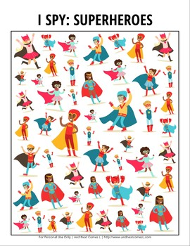 image about I Spy Printable referred to as Mive Assortment of Printable I Spy Video games