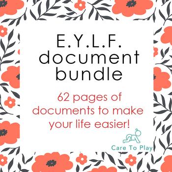 Big EYLF (Early Years Learning Framework) prof. document b