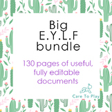 Massive EYLF (Early Years Learning Framework) professional doc.bundle -130 pages