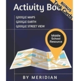Massive Google Maps ACTIVITY BOOK **BONUS Task Cards**
