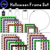 Halloween Frame Set - 49 Frames - Bats - Spiders - Ghosts