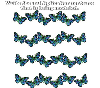 Massive Mix of Multiplication Models (POWERPOINT) 3.OA.A1