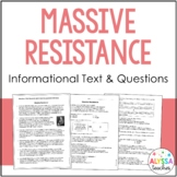 Massive Resistance Reading and Questions (VS.9c)