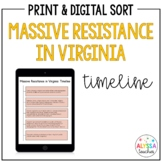 Massive Resistance Timeline Worksheet (VS.9c)