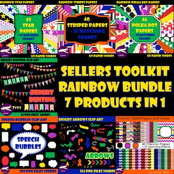 Massive Sellers Toolkit Bundle - 4 Paper Packs and 3 Clip