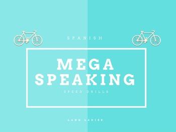 Massive Spanish Speed Speaking Game for Novices