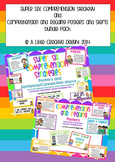 Reading Comprehension Posters and Stems pack