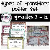 Massive Transition Words Poster Set