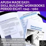 Master AP US History Workbooks Bundle: Periods 6-9