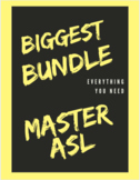 Master ASL BUNDLE Units 1-10 (Over 1,00 gifs, PowerPoints, and vocabulary lists)