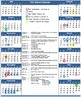 Master Calendar of Events