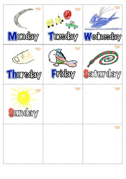 Master Calendar with Math Centers K-1st English