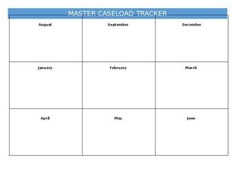 Master Caseload Tracker