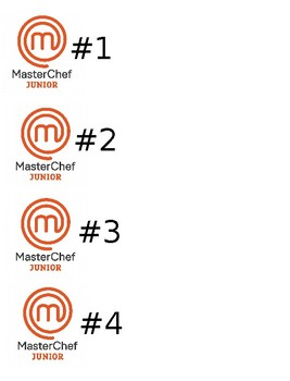 Master Chef Jr documents - EDITABLE