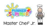 Master Chef Jr documents - EDITABLE