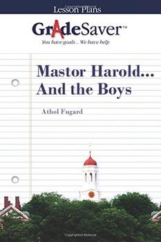 Master Harold... And the Boys Lesson Plan
