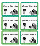 Master Librarian Cards