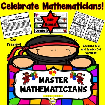 Master Mathematician Award