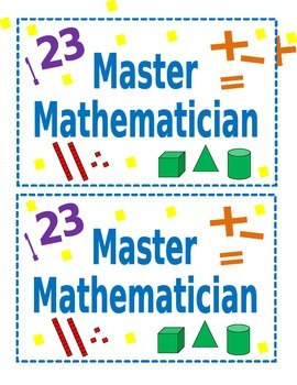Master Mathematician Sign